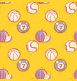 watermelon billiards basketball and baseball vector image vector image