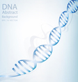 dna abstract light white colour background vector image