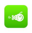 bathyscaphe icon simple style vector image vector image