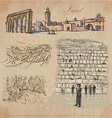 Israel - An hand drawn collection pack