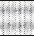 old cracked brick wall seamless vector image vector image