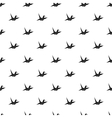 Paper dove pattern simple style vector image
