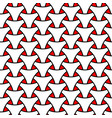 seamless weaving triangle squama surface pattern vector image vector image