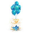 37th years celebrations greetings thirty seven vector image vector image