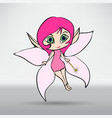 a beautiful fairy in flight vector image