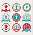 award design elements collection vector image