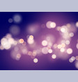 dark purple background with blur and bokeh effect vector image