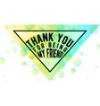 Happy Friendship day vector image vector image