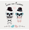 Love Me Forever Funny vector image