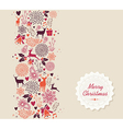 Merry Christmas elements seamless pattern vector image vector image