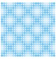 seamless pattern from blue circles vector image vector image