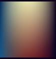 warm blur background vector image vector image
