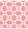 Abstract seamless modern pattern vector image