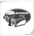 barbers shop logo vector image