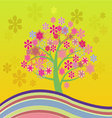 blossom Cherry Tree vector image vector image