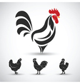 Cock2 vector image vector image