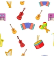 Device for music pattern cartoon style vector image vector image