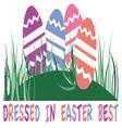 Easter Best vector image vector image