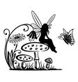 Fairy fantasy vector image vector image