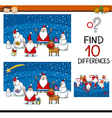 find differences educational task vector image vector image