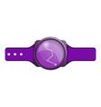 fitness tracker icon cartoon style vector image vector image