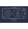 nautical rope knots and frames vector image vector image