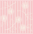 retro floral seamless backdrop wallpaper with vector image