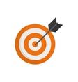 Target dartboard goal vector image vector image