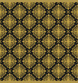 vintage ornament seamless pattern damask vector image