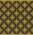 vintage ornament seamless pattern damask vector image
