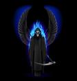 Angel of death vector image