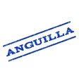 Anguilla Watermark Stamp vector image vector image