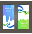 banners template set Hand drawn Watercolor vector image vector image
