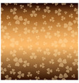 brown texture for patricks day - background vector image