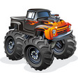 Cartoon monster truck vector | Price: 5 Credits (USD $5)