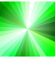 Green Light Ray Abstract Background vector image vector image