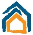 icon of a house vector image