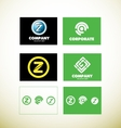 Logo design icon element set vector image vector image