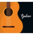 Music guitar instrument vector image vector image