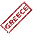 New Greece rubber stamp vector image vector image
