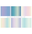 seamless square background set vector image