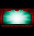 theater curtain theater opera or cinema vector image vector image