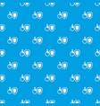 wheelchair and safety shield pattern seamless blue vector image vector image