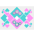 abstract gear mechanism background vector image