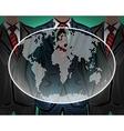 Network international worldwide business team vector image