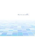 abstract technology background with a perspective vector image vector image