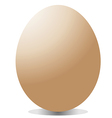 big egg vector image