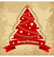 Merry Chistmas card vector image vector image