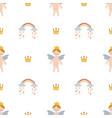 seamless pattern for children vector image vector image