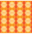 Squares pattern warm background vector image